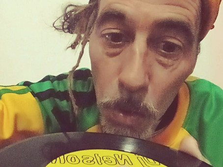 """""""DJ NELSON"""" EDITO EN VINILO 7 INCH. LADO A""""JAMAICA ARGENTINA"""" LADO B""""VERSION"""". CLASICO DE CLASICOS."""