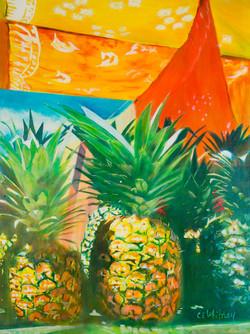Pineapple and Batik