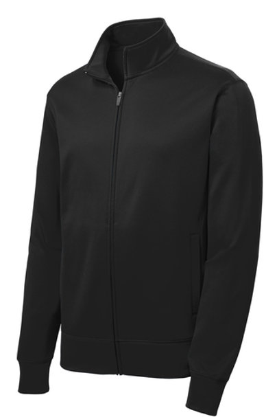 Atonement Lutheran Logo'd Youth Sport-Wick® Fleece Full-Zip Jacket