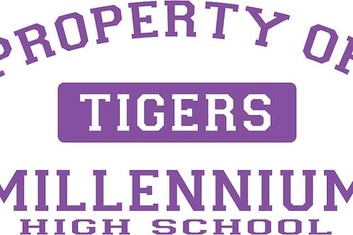 Property of Millennium HS Logo'd T-Shirt