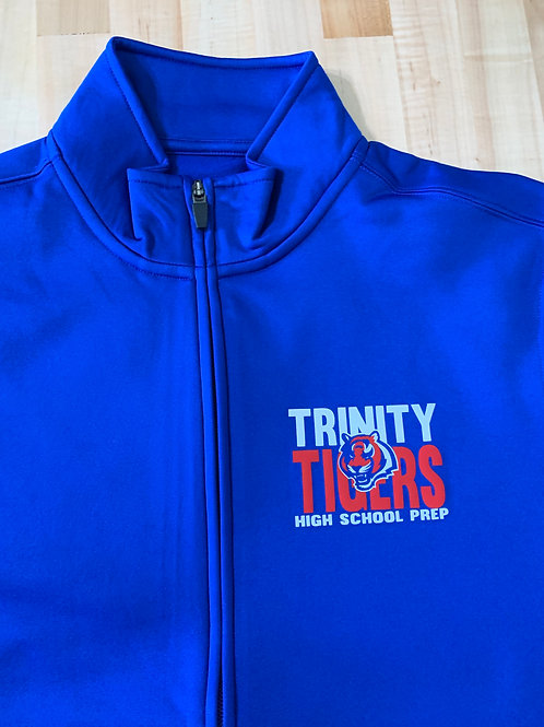 Trinity Ladies High School Prep Logo'd Unisex Full Zip Jacket