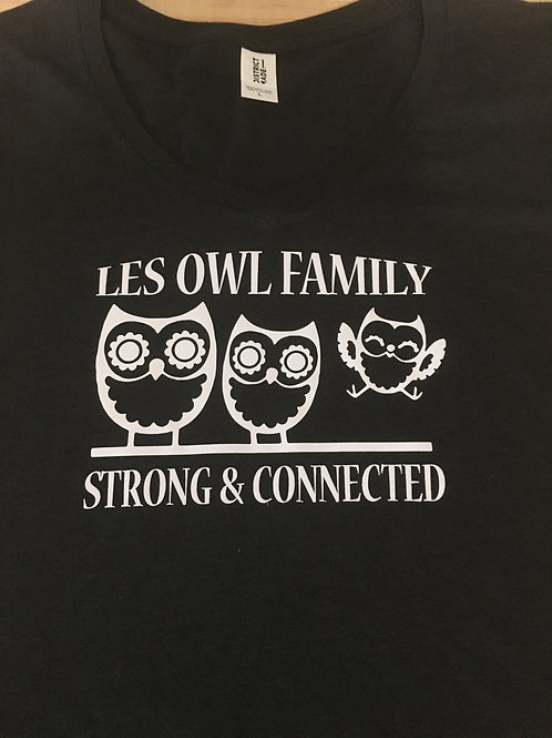 Three Owls V-Neck T-Shirt