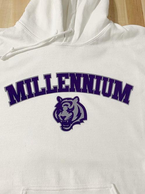 Millennium Logo'd Hooded Sweatshirt