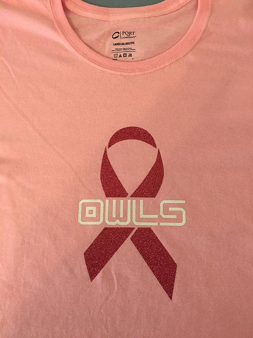 Owls Breast Cancer Awarness Shirt