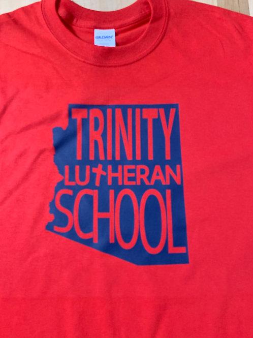 Trinity Unisex State Logo Tee