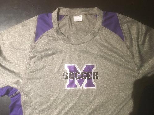 MHS Logo'd Long Sleeve Performance Shirt