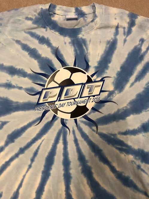 PDT Sunray Logo'd Tie-Dye T-Shirt