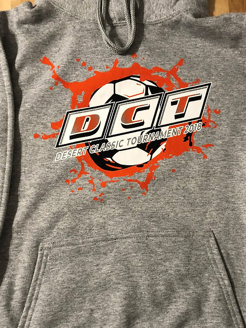 DCT Grey Hoodie w/Abstract Logo