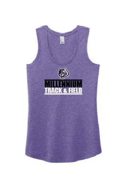 MHS Track Women's Perfect Tri ® Racerback Tank - Track Logo'd