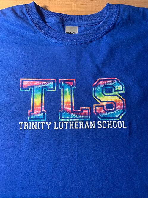 Trinity TLS Tie-Dye Logo'd Unisex T-Shirt