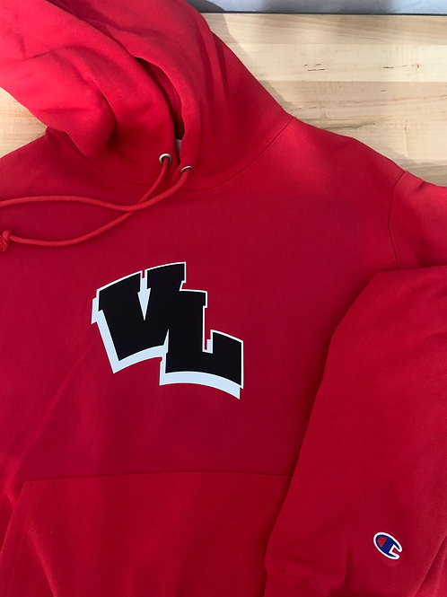 Valley Lutheran Logo'd Champion Hoody