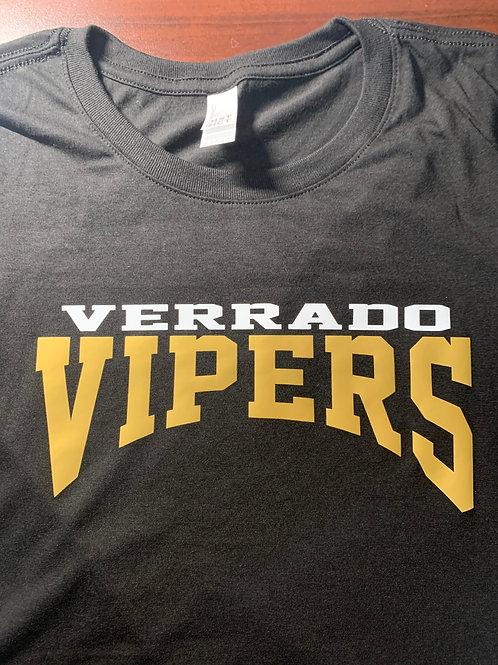 Verrado Vipers Logo'd UniSex Perfect Tri-Blend T-Shirt