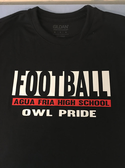 Owl Pride Football T-Shirt