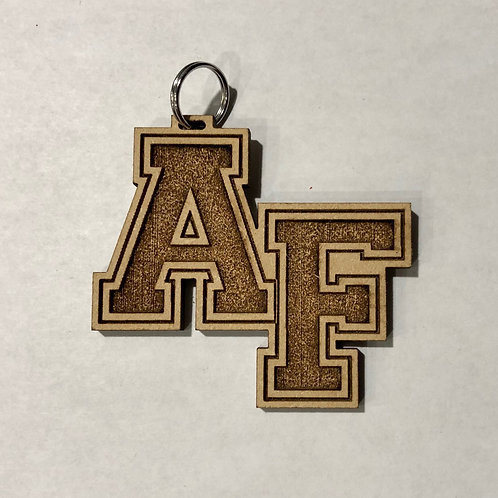 AF Wooden Key Chain