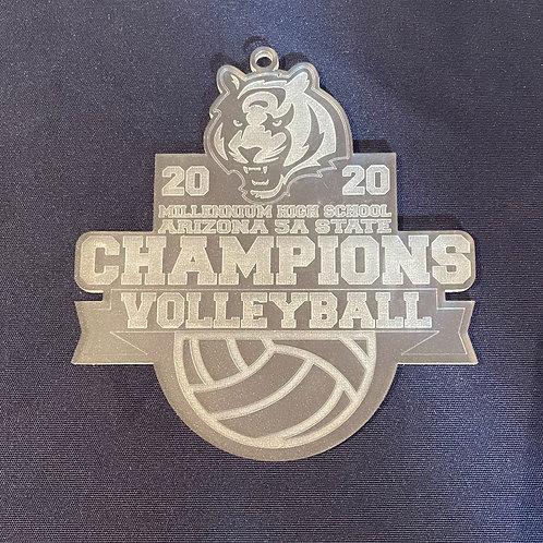 Millennium Volleyball State Champions Ornament