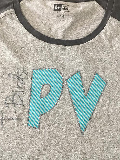 T-Birds PV Stripes Logo'd Shirt