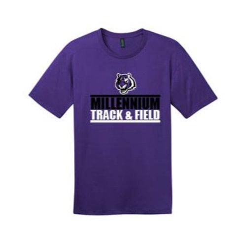 MHS Track Performance Crew T-Shirt