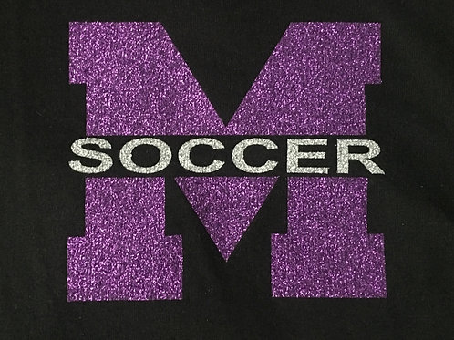 M Soccer Ladies Perfect Weight® Crew Tee