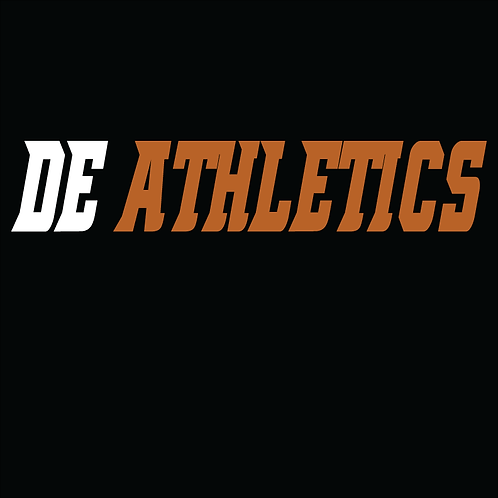 DE Athletics Two Color Logo'd T-Shirt