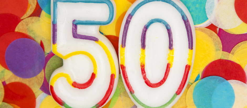 Fifty And Fabulous: I Made It To the Half a Century Mark!