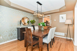 Dining Room Staged by Birch+Co Home Staging