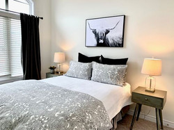 Bedroom Staged by Birch+Co Home Staging