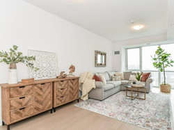 Living Room Staged by Birch+Co Home Staging