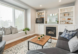 Living Room Staged by Birch+Co Home Stabing