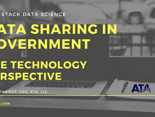 Best Practices and Recommendations to Promote Data Sharing in Government (from a TECHNOLOGY perspect