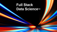 Why Full Stack Data Science?