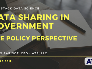 Perspective on Policy: Promoting Data Sharing in Government