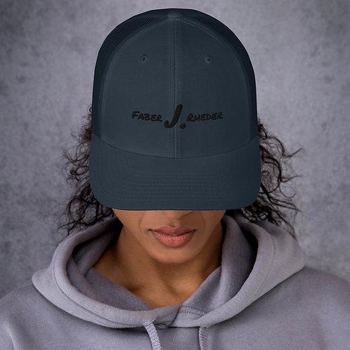 Faber J. Rheder Hat Trucker Retro Pink & Black