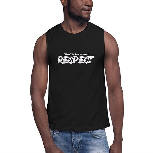 Black Respect Sleeveless Unisex