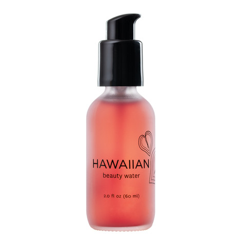 Hawaiian skincare product photography