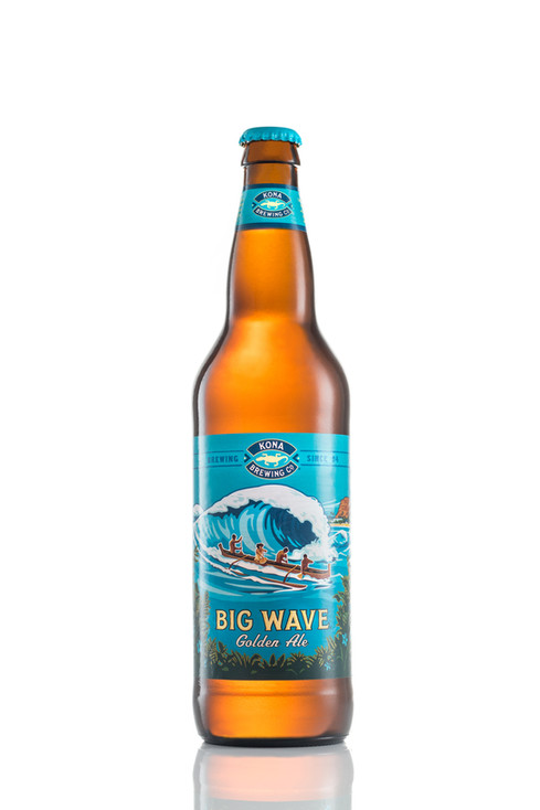 Big Wave Golden Ale, hawaii advertising photography