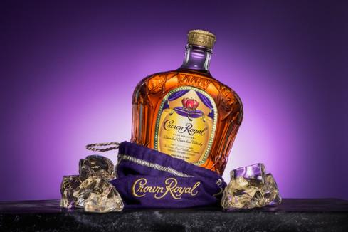 Crown Royal, hawaii advertising product photography