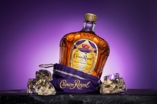 Crown Royal, hawaii advertising product photography
