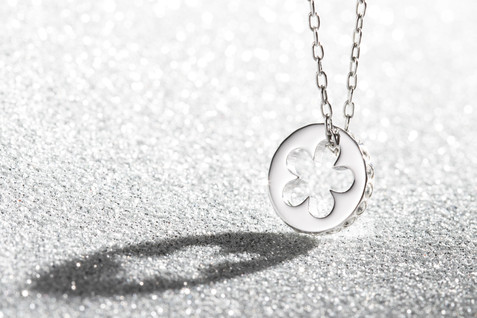 Silver Pendant, hawaii jewelry photography