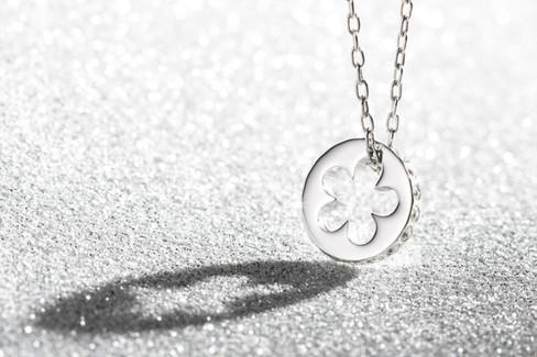 Silver Pendant, hawaii jewelry photography