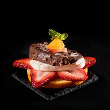 styling Beautiful Ice Cream Dessert, hawaii food & drink photography