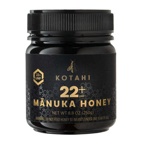 Kotahi Manuka honey 22+, Hawaii product photographer