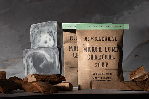 Charcoal Soap photography