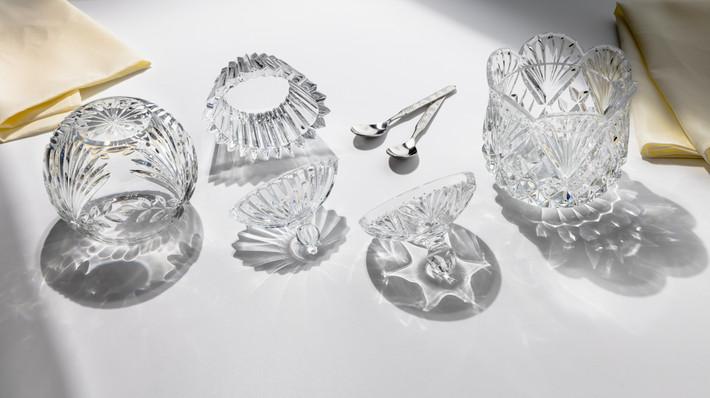 Glassware still life photography