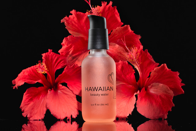 hawaiian beauty skincare, hawaii beauty skincare, hawaii advertising product photography