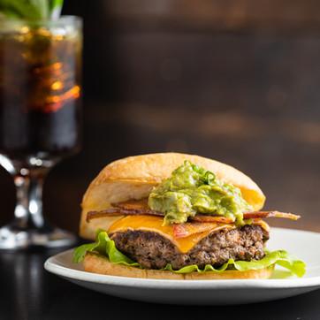 Burger, hawaii food & drink photography
