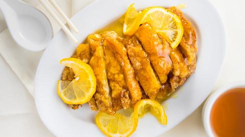 Lemon Chicken, hawaii food & drink photography