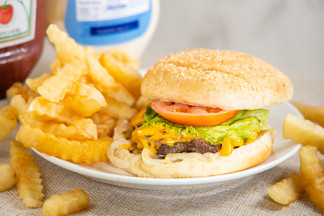 Bite Squad Food Photography.Cheeseburger with Fries.jpg