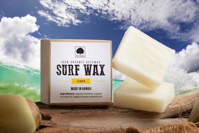 Composite (surf soap, beach, coconut, ocean, water)