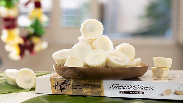 White chocolates Hawaiian Host