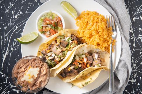 Lengua Tacos, hawaii food & drink photography